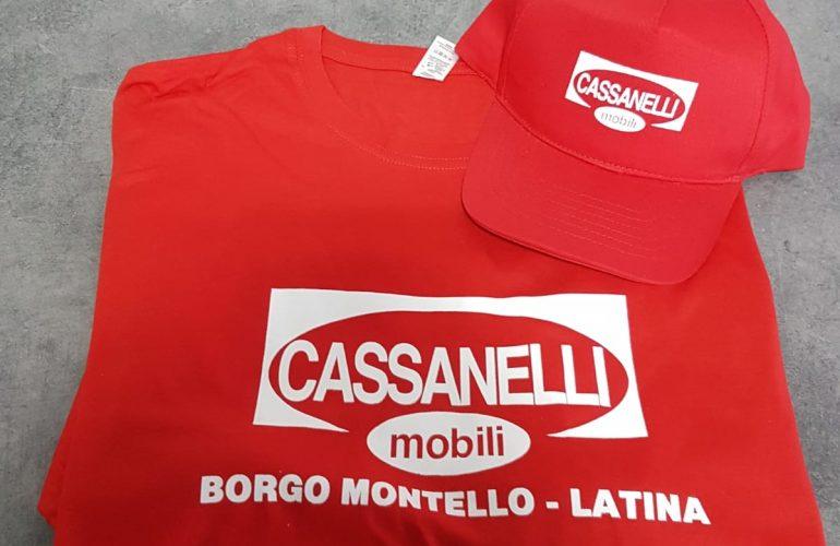 T-Shirt e Cappello con stampa serigrafica