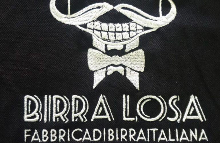 Ricamo Logo Birra Losa